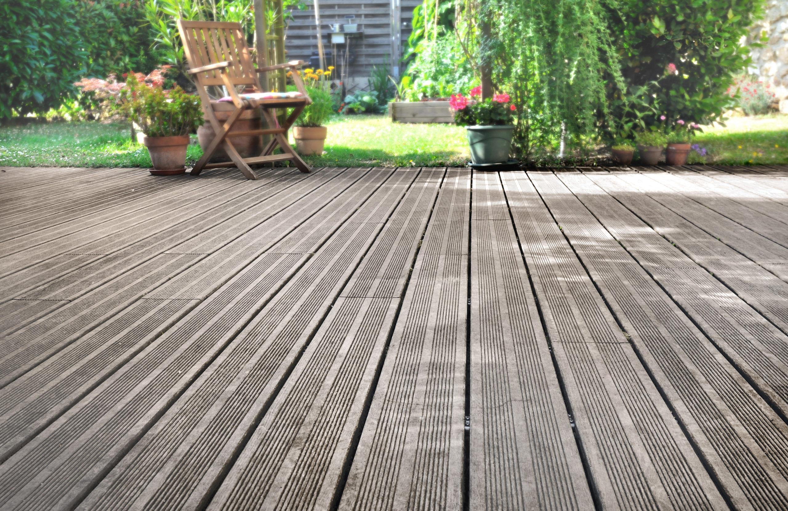 Terrasse bois à lorient