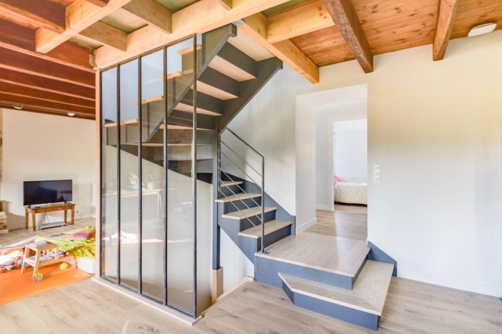 Remplacement d'un escalier interieur