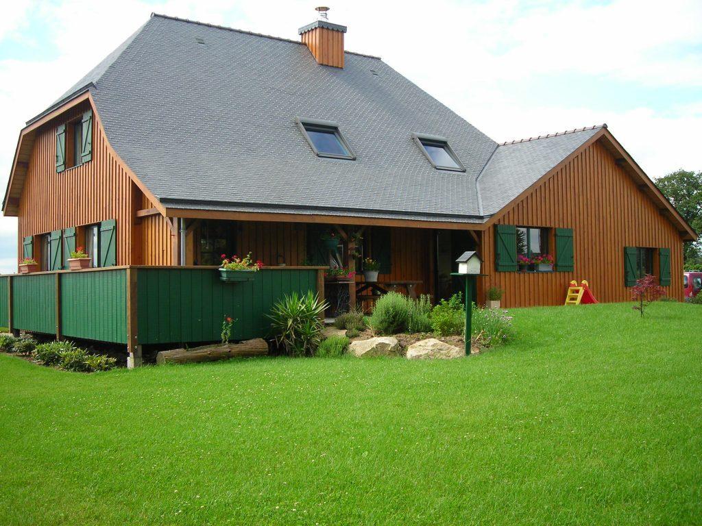 Maison ossature bois à Arzon