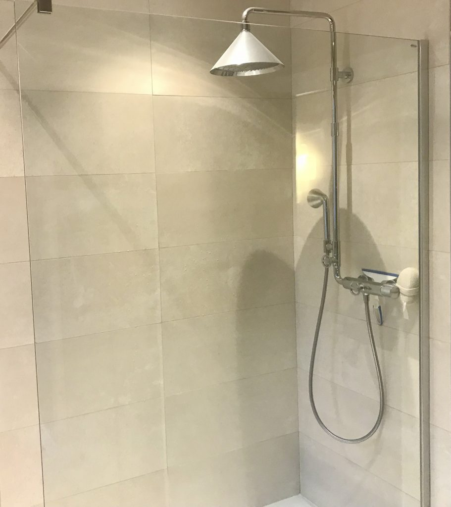 Création d'une douche